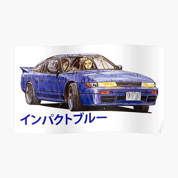Mako & Sayuki (Nissan Sileighty) Poster