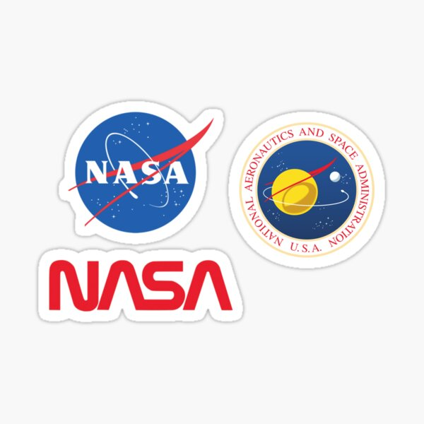 NASA Sticker Pack Sticker