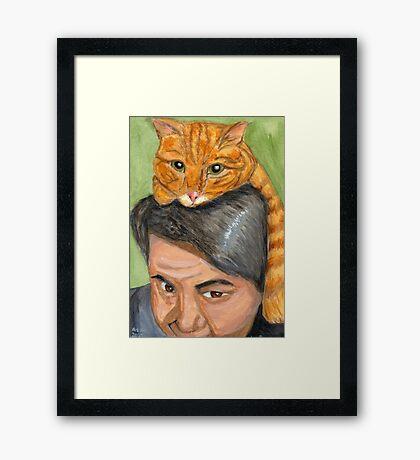 Tiger Infestation Framed Print
