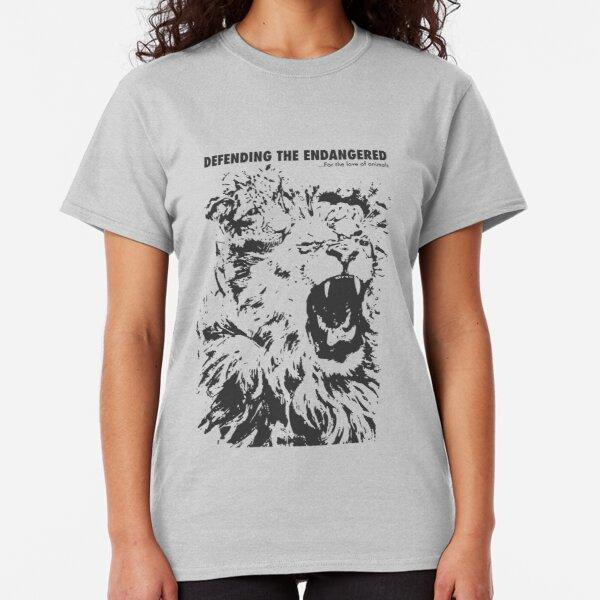 Defending the Endangered - For the Love of Animals Classic T-Shirt