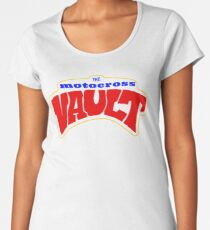 The Motocross Vault Premium Scoop T-Shirt