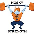 Husky Strength by Lucarbi