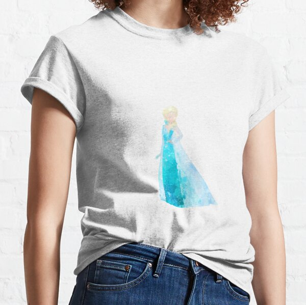 Snow Queen Inspired Watercolor Classic T-Shirt