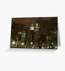 The Empire State Building - New York City Greeting Card