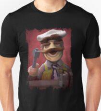 Muppet Maniacs - Swedish Chef as Leatherface T-Shirt