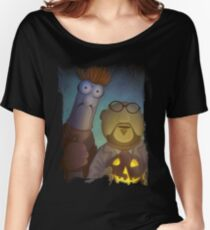 Muppet Maniacs - Beaker Myers & Dr. Honeyloomis Women's Relaxed Fit T-Shirt