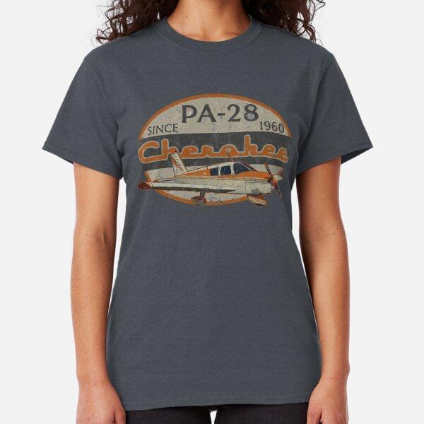 PA-28 Piper Cherokee Since 1960 Retro Vintage Design Classic T-Shirt