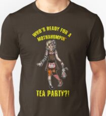 Mothahumpin' TEA PARTY! Slim Fit T-Shirt