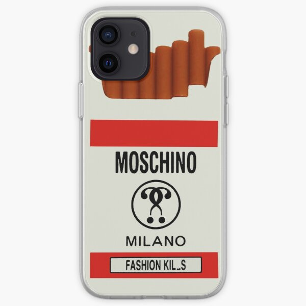 Moschino Ciggarette Coque souple iPhone