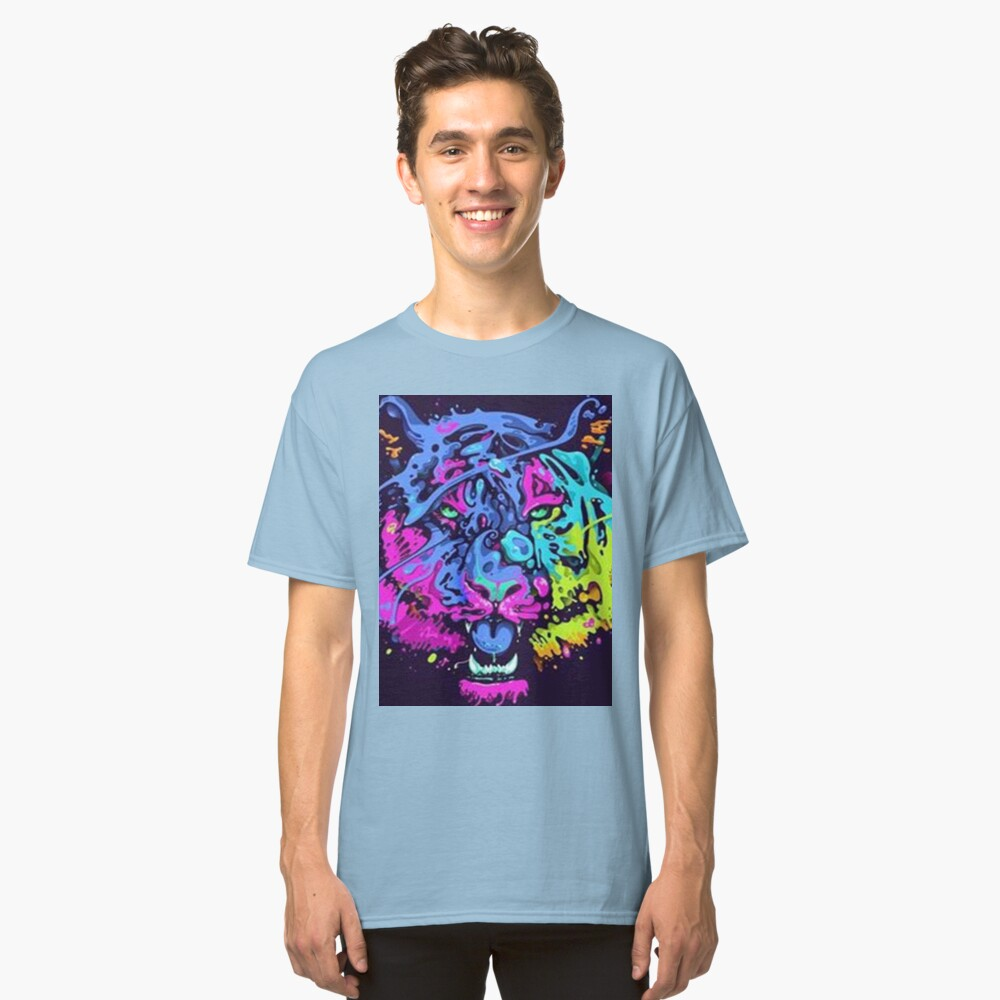 Leo Abstract Collour Classic T-Shirt