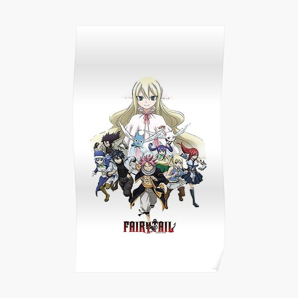 Équipe Fairy tail! Poster