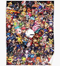 Super Smash Bros Ultimate Poster