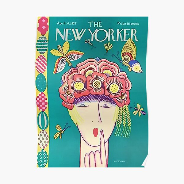 Vintage New Yorker Cover - Circa 1927 Poster