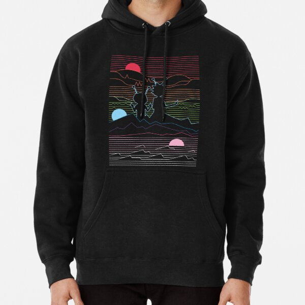 RICK & MORTY in the hills Pullover Hoodie