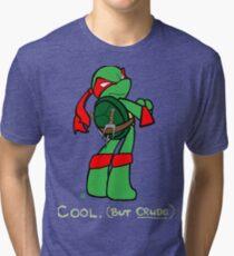 Teenage Mutant Ninja Turtles- Raphael Tri-blend T-Shirt