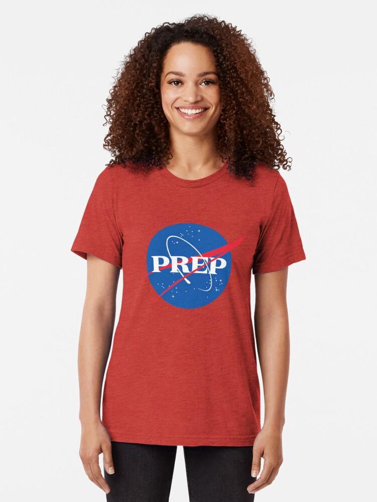 Alternate view of NASA PrEP Tri-blend T-Shirt