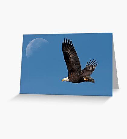 Ticket to the Moon Greeting Card