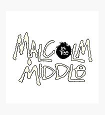 Malcolm in the Middle Photographic Print