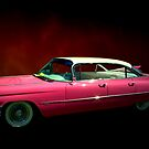 """1959 Cadillac Series 62 Hardtop  """"Pretty In Pink""""  by TeeMack"""