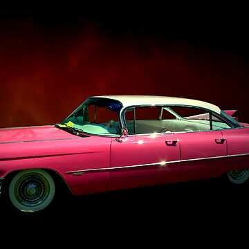 "1959 Cadillac Series 62 Hardtop  ""Pretty In Pink""  by TeeMack"