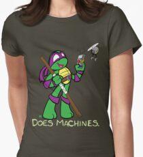 Teenage Mutant Ninja Turtles- Donatello Women's Fitted T-Shirt