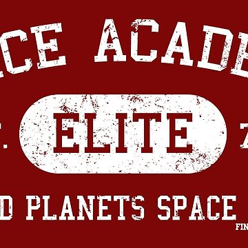 Space Academy (white) by FinishItPod