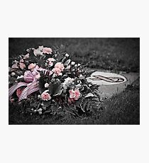 Remember...   Breast Cancer Photographic Print