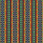 «Patrón geométrico tribal africano» de Jirka Svetlik