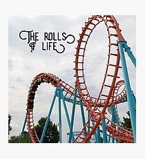 The Rolls of Life t-shirt Photographic Print