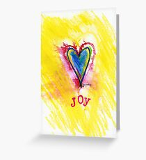 Joy Down in My Heart Greeting Card