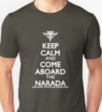 Come Aboard the Narada Unisex T-Shirt
