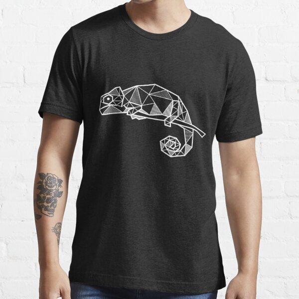 Chameleon terrarium reptile geometric gift Essential T-Shirt
