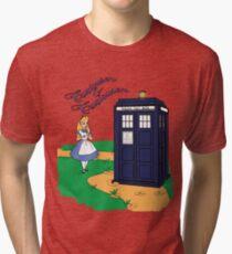 Curiouser & Curiouser Tri-blend T-Shirt