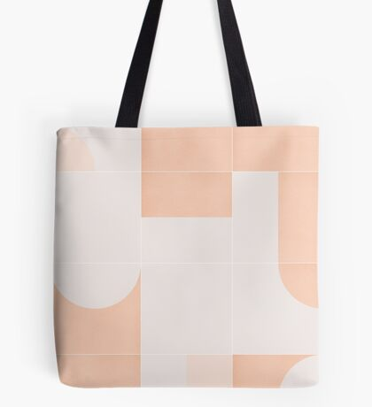 Retro Tiles 05 #redbubble #pattern Tote Bag