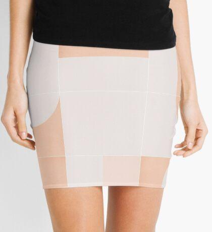 Retro Tiles 05 #redbubble #pattern Mini Skirt