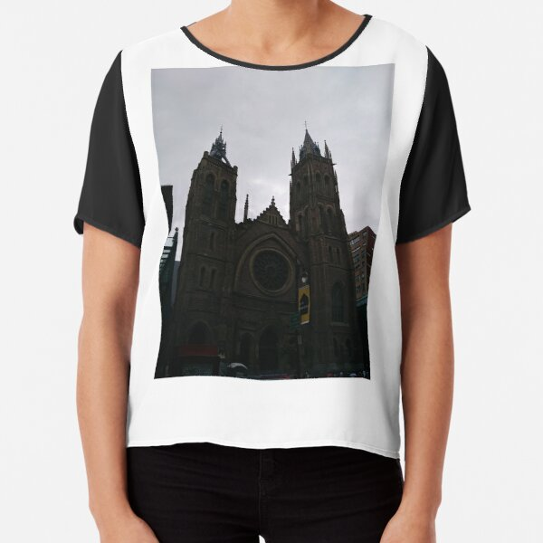 St. #James #United #Church, #Montreal Chiffon Top