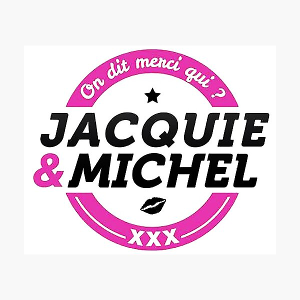 JACQUIE AND MICHEL Photographic Print