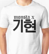 Monsta X Kihyun Name/Logo T-Shirt
