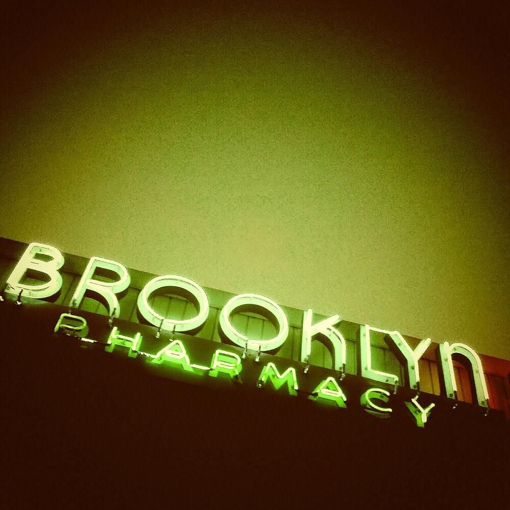 Brooklyn Pharmacy - Portland Oregon by KeriFriedman
