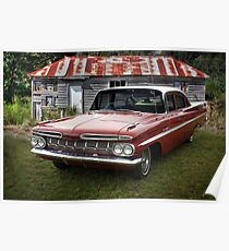 59 Chevy Poster