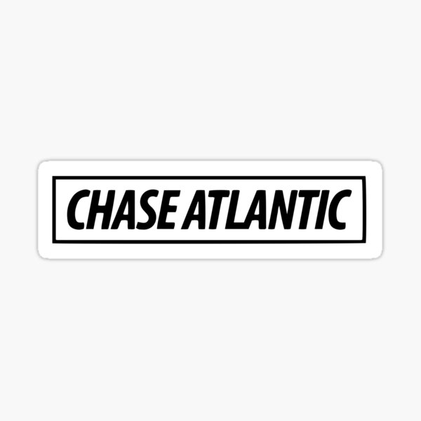 Chase Atlantic Pegatina