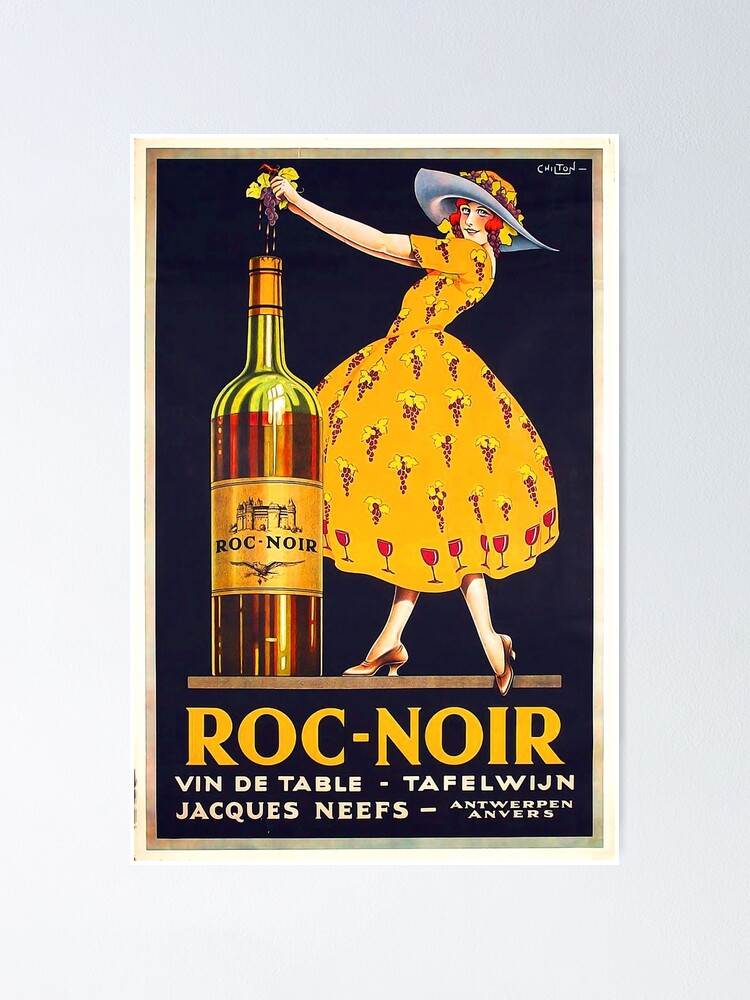 Alternate view of Vintage Wine Advertisement  Poster Poster