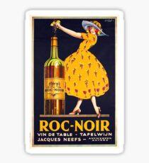 Pegatina Cartel del anuncio del vino del vintage