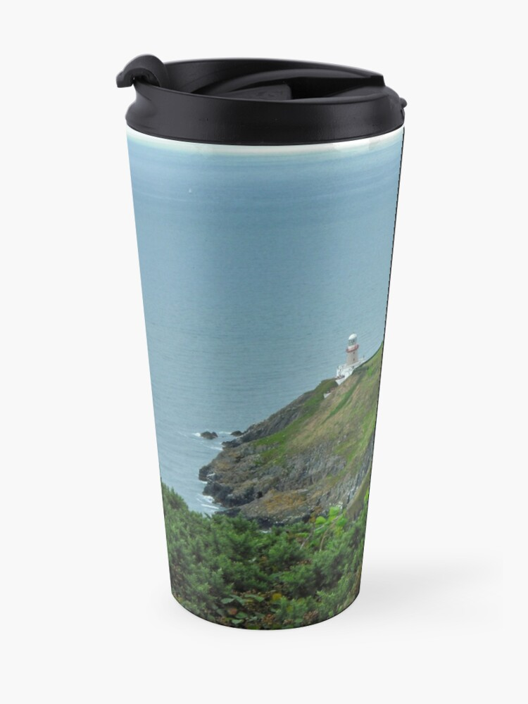 Alternate view of Howth Lighthouse - Ireland Travel Mug