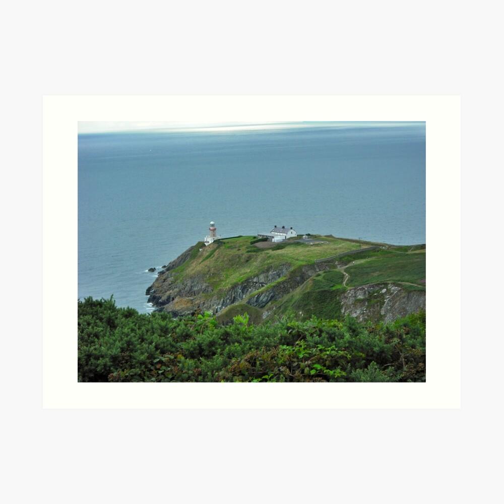 Howth Lighthouse - Ireland Art Print
