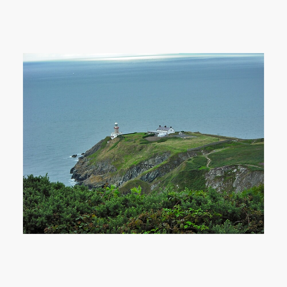 Howth Lighthouse - Ireland Photographic Print