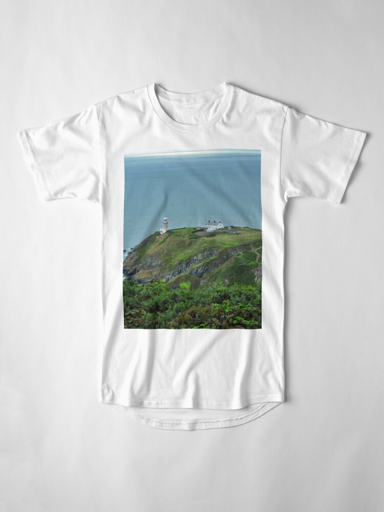 Alternate view of Howth Lighthouse - Ireland Long T-Shirt