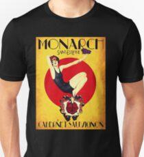 Camiseta ajustada Anuncio de vino de la vendimia