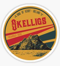 Ireland Ring of Kerry Skelligs T-Shirt + Sticker Sticker