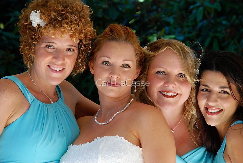 Stacey and her maids by Carl LaCasse